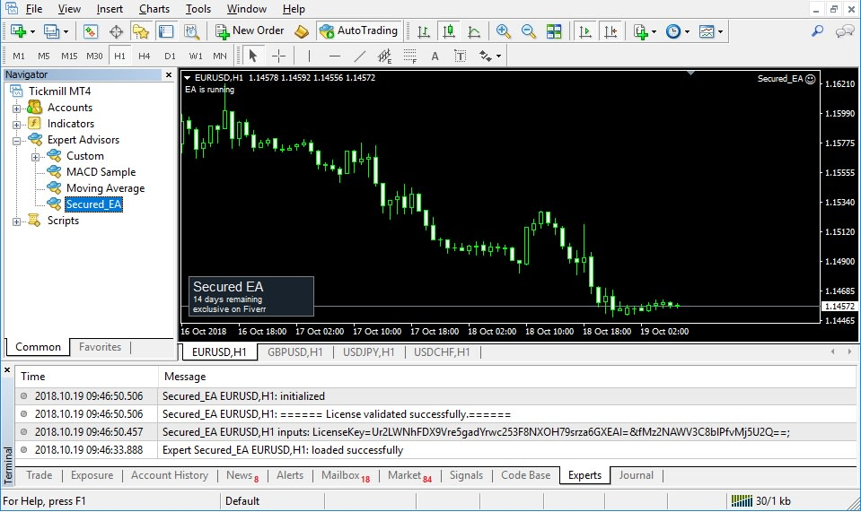 Add Copy Protection Licensing To Forex Mt4 Indicator Ea By Hasithaya