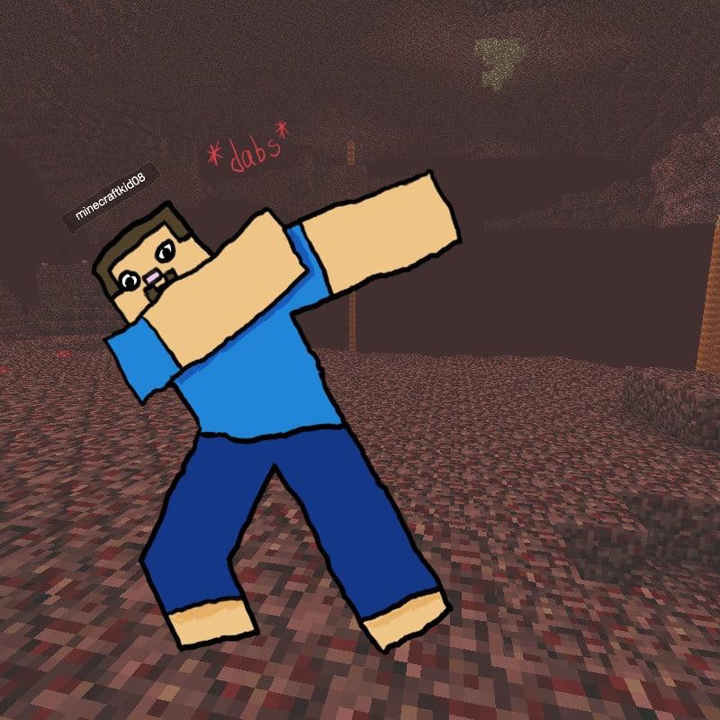 Draw Minecraft Steve Doing Anything For You By Grimlockshocker