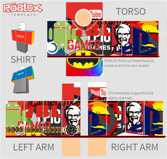 Make Personal Roblox Skins By Ai Dillen