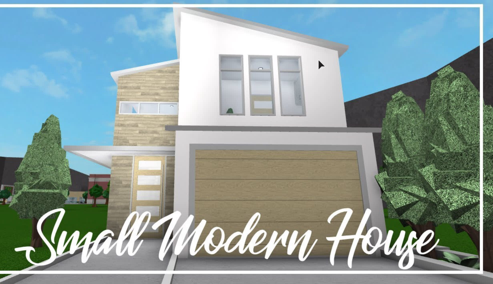 Build You A House In Roblox Bloxburg By Buildingers