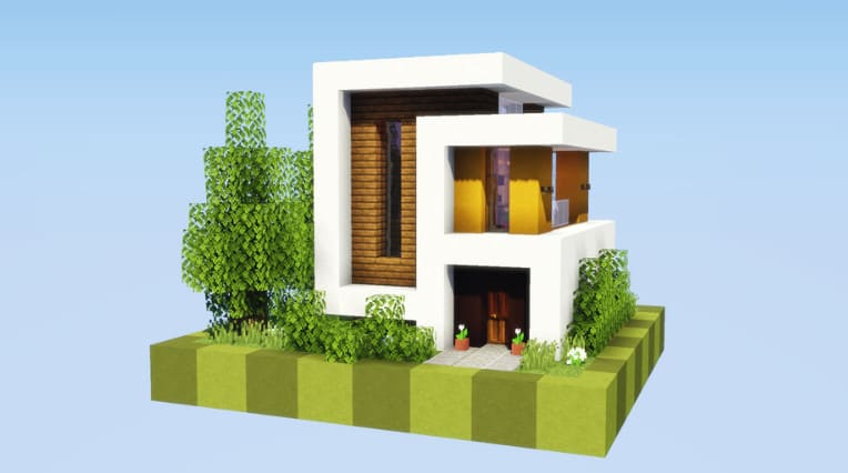 Build You A Modern House In Minecraft By Easyjapan