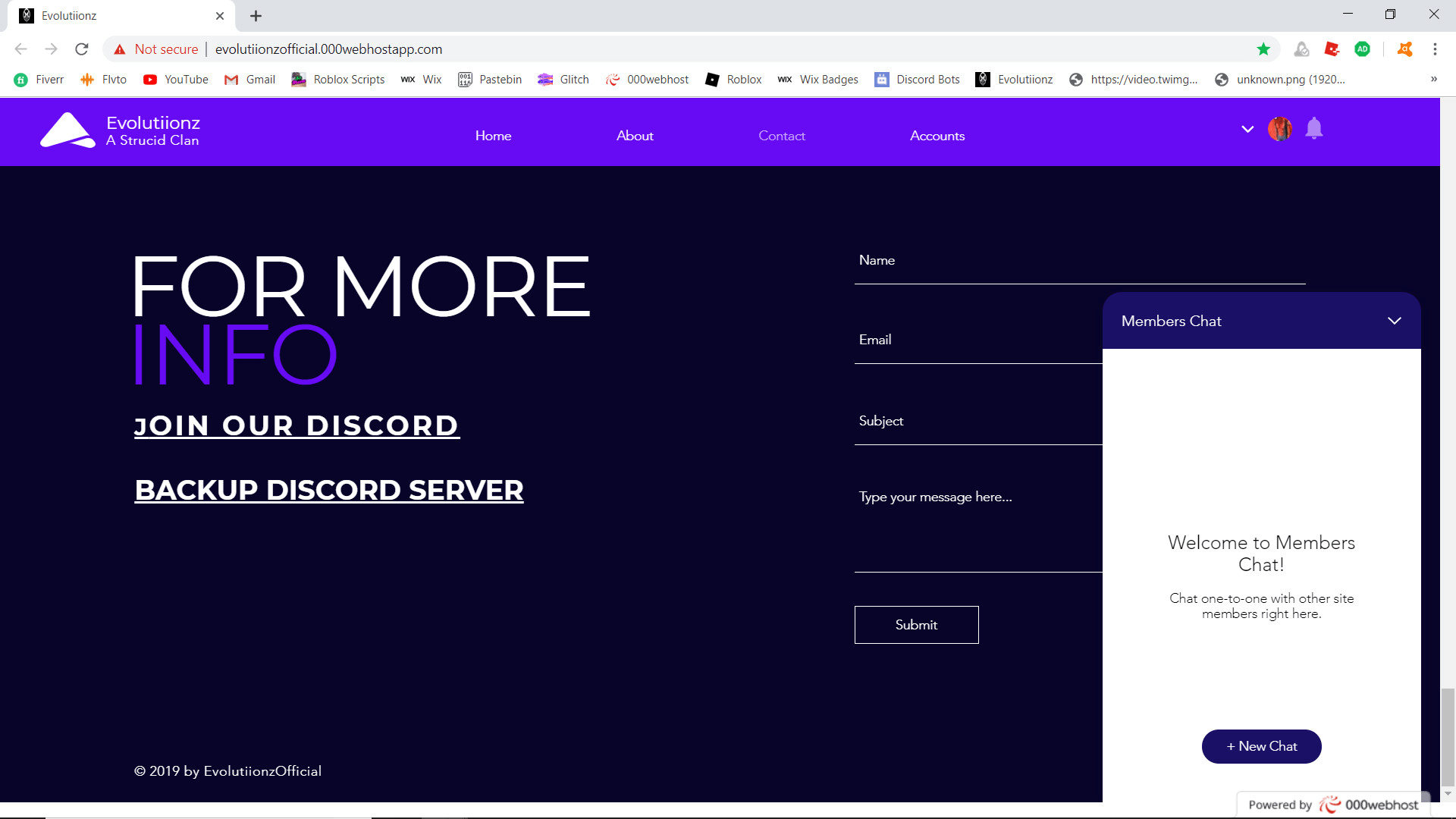 Make A Professional Website By Cl4watriix