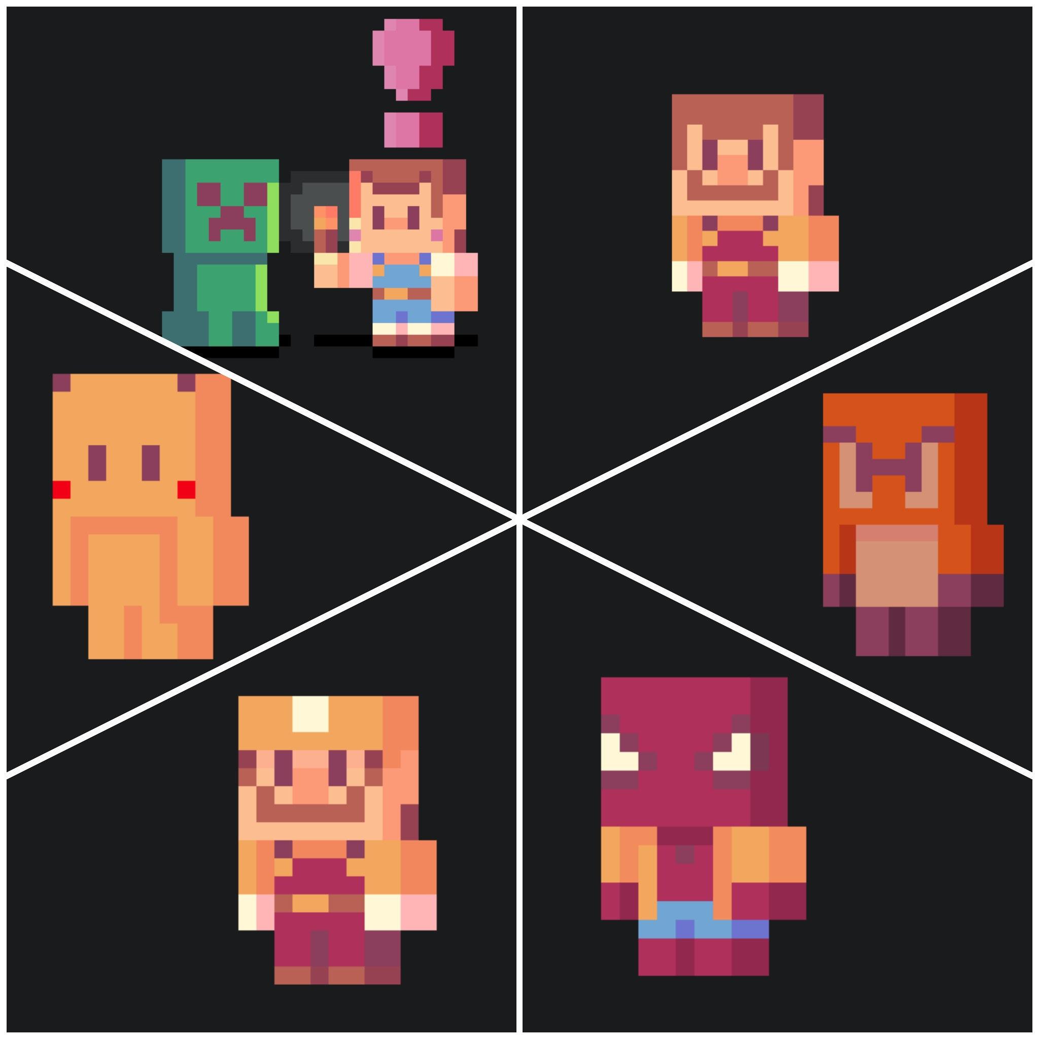 Make A Custom Minecraft Skin Plus Pixel Art Illustration By Enriqueyan