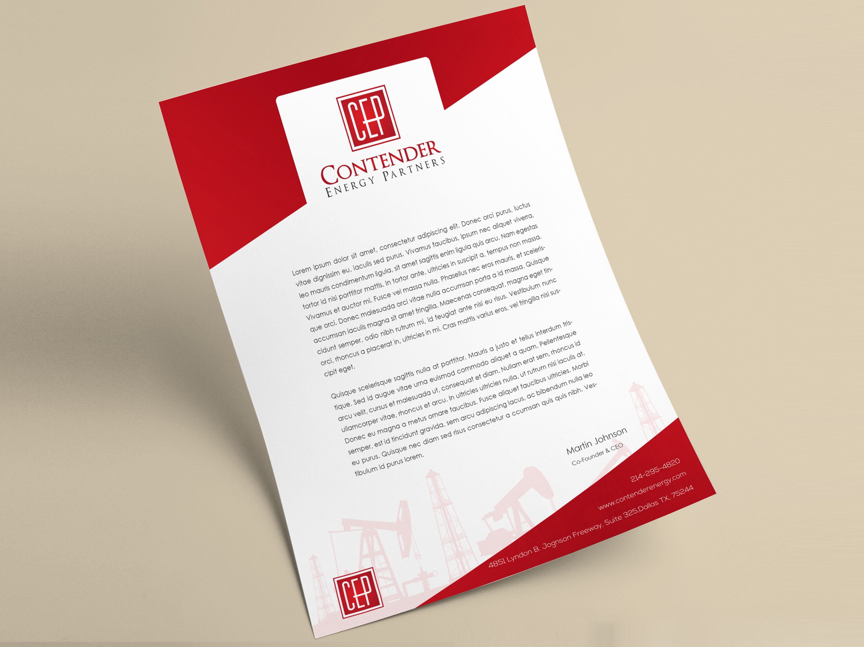 Professional Letterhead designing unlimited revisions business branding