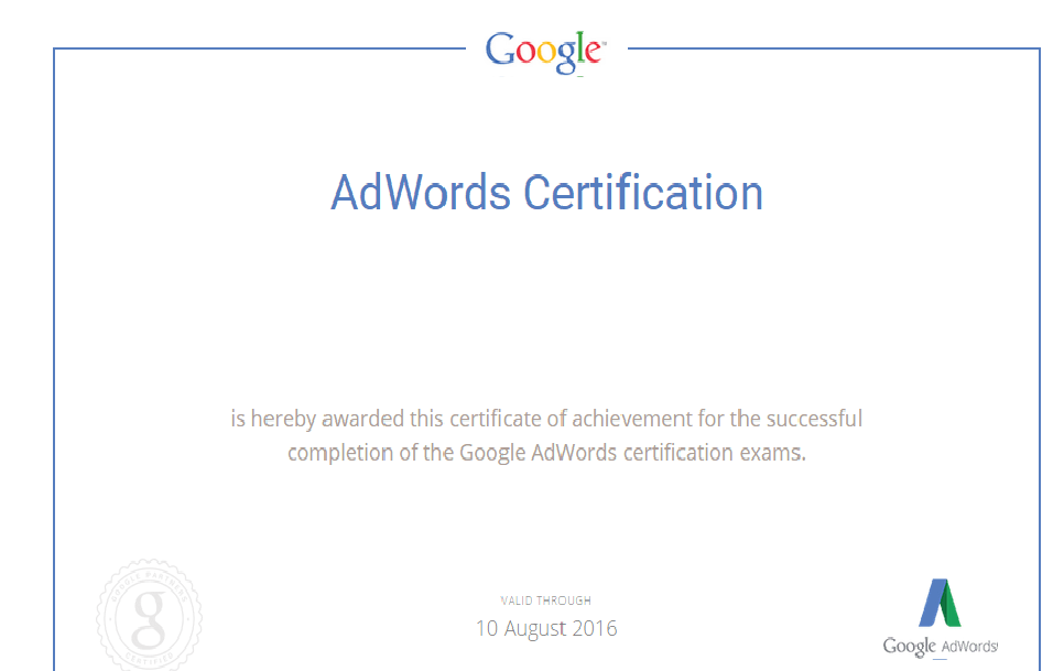 Get You Google Adwords And Bing Partner Certification By Vacurit
