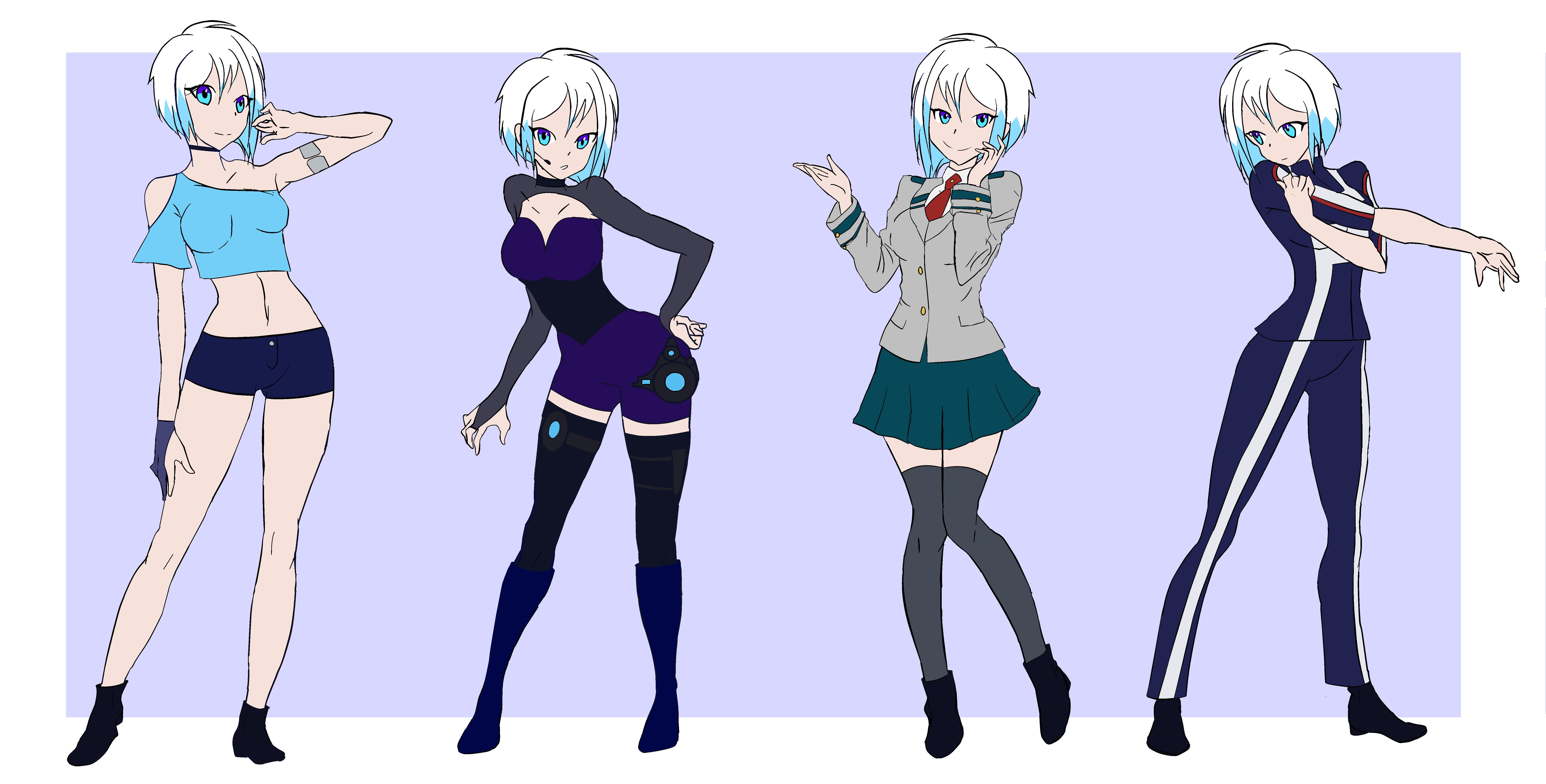 Featured image of post Female Oc Base Anime