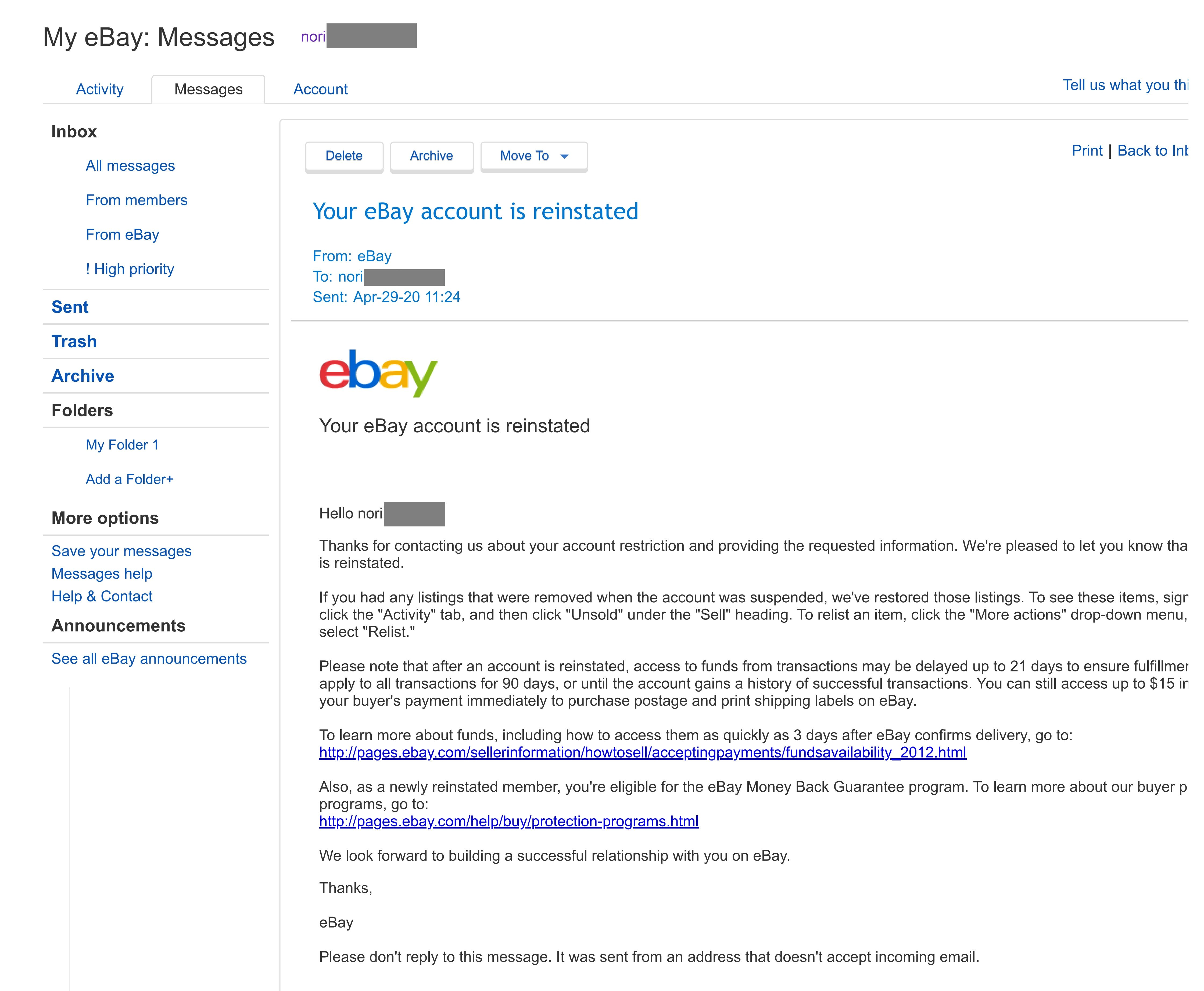 Reinstate Your Suspended Ebay Account By Islamayoub 94