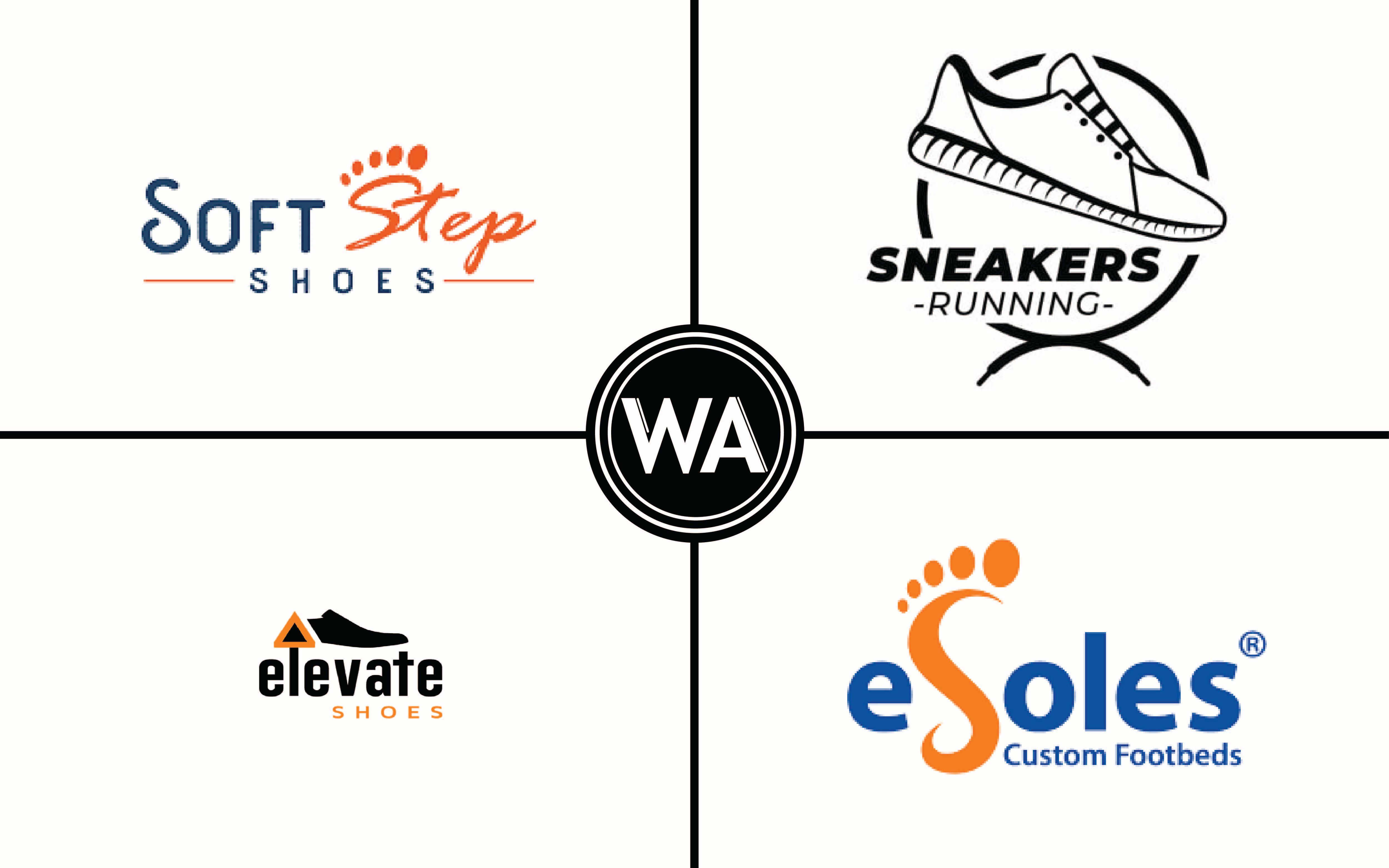 shoe brand with e logo