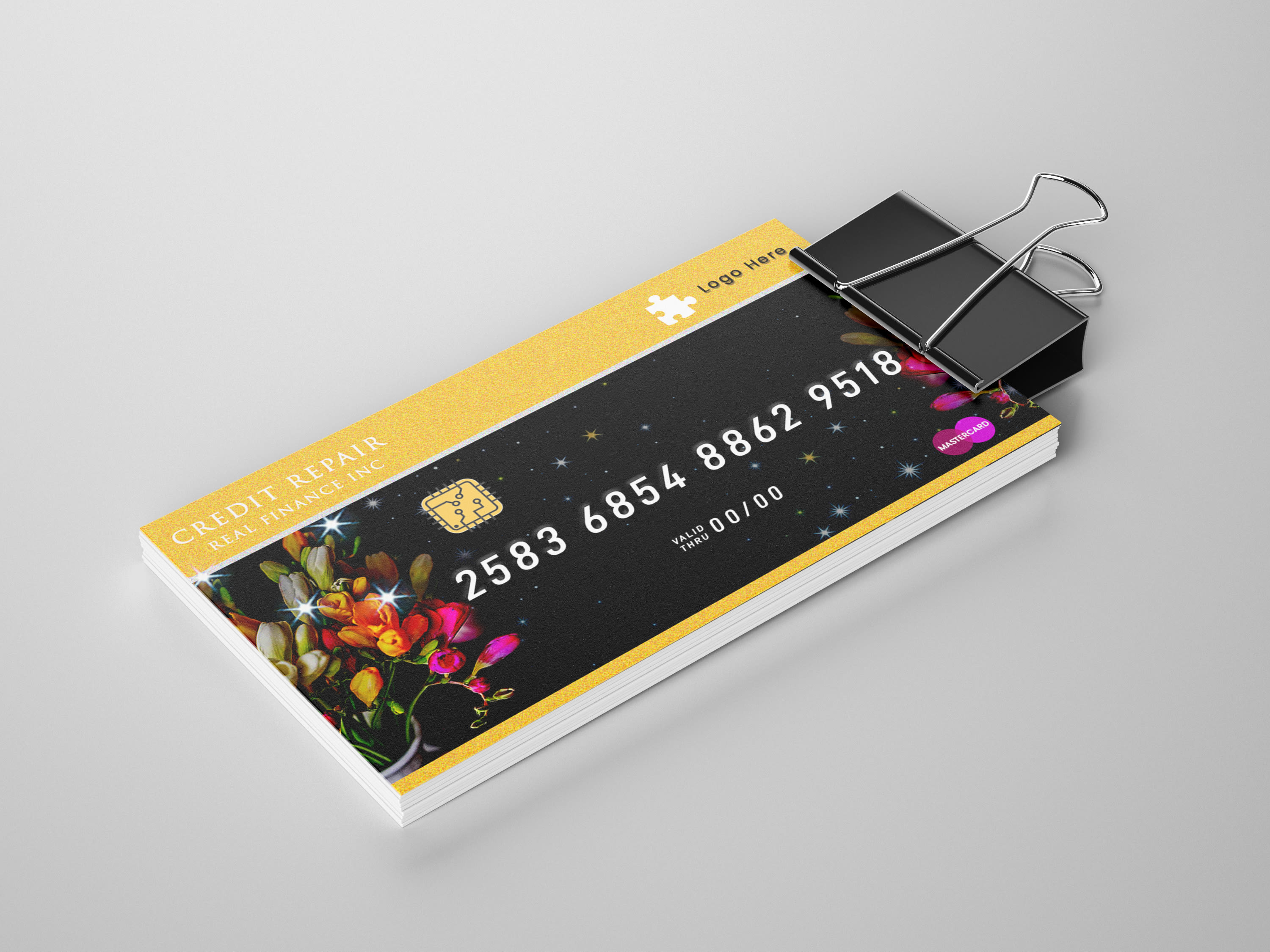 Do Design Credit Card Style Business Cards By Cs Logo