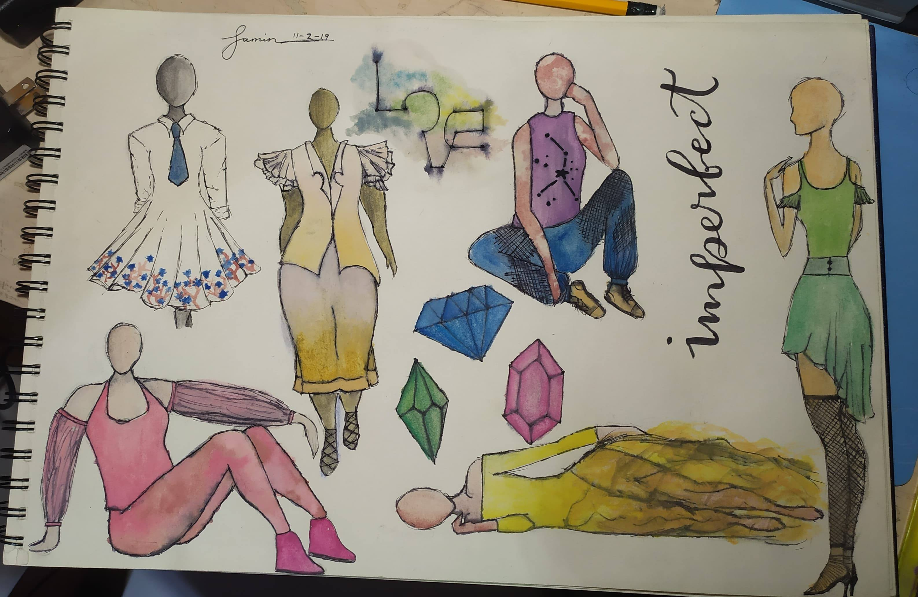 Fashion Design Sketches For You And Sell Mine By Trishia57