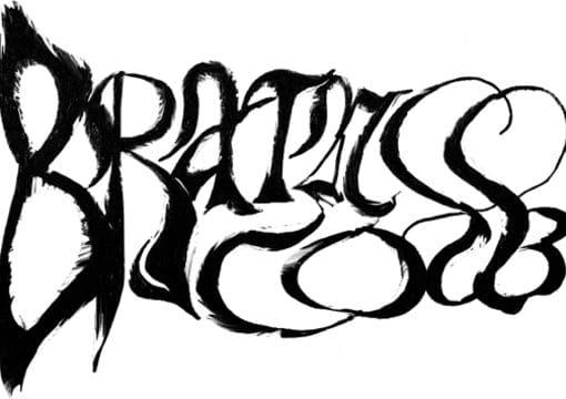 Name black logo generator metal BLACK METAL