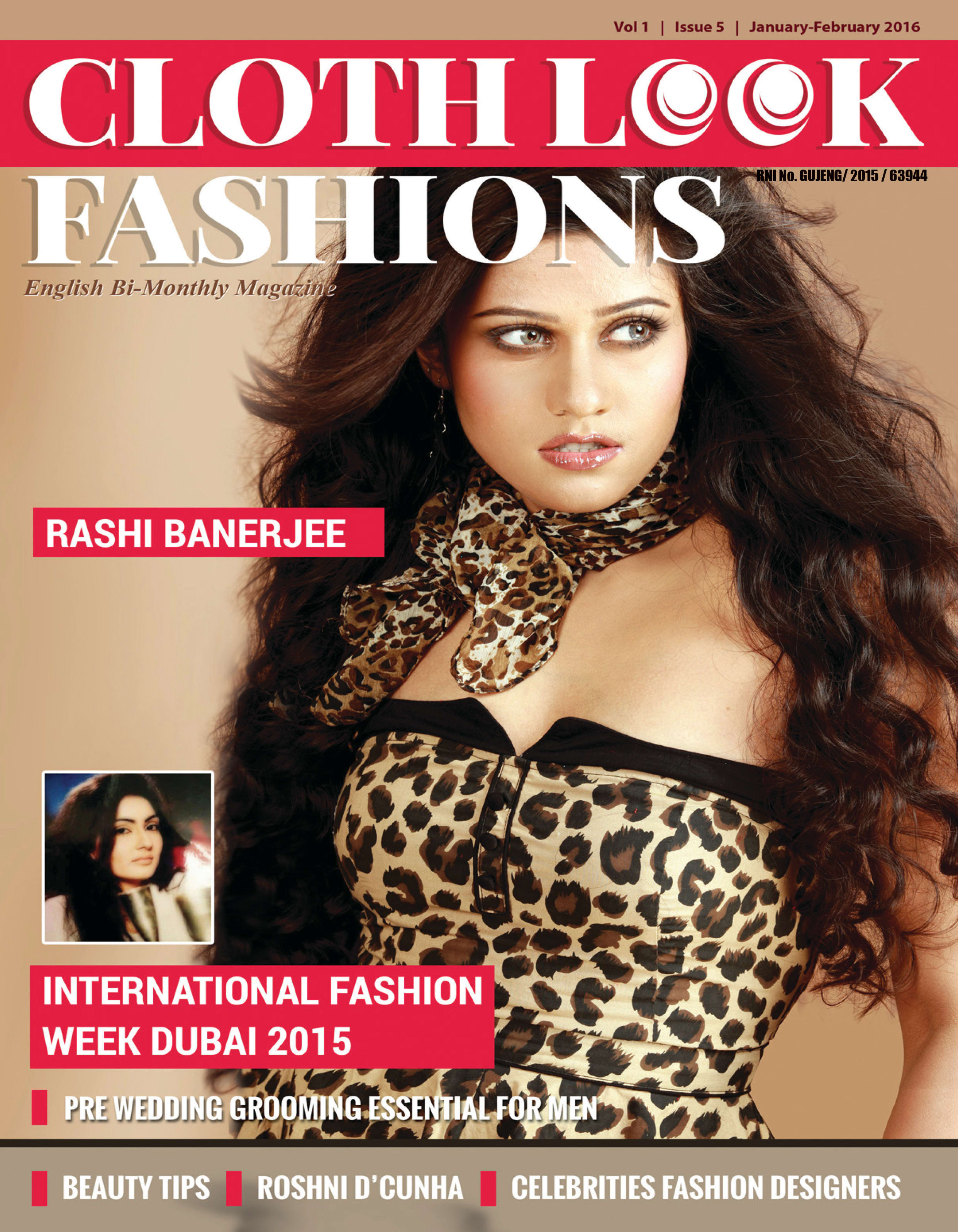 Magazine Cover Page And Inner Page Design By Bharat Solanki