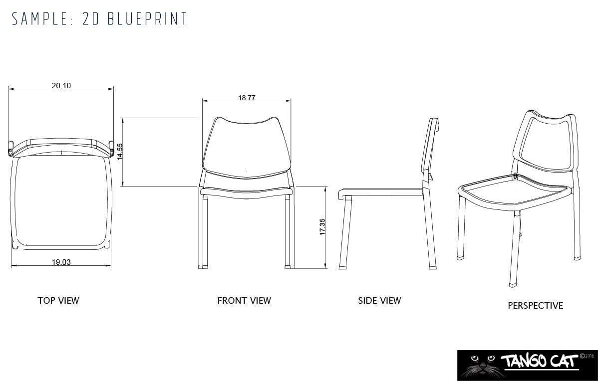 furniture design with 11D Blueprint and 11D Images