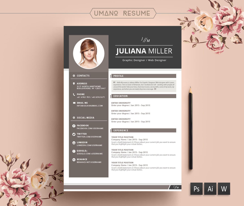 Do resume design, cv, design cover letter by Kabirdesigner
