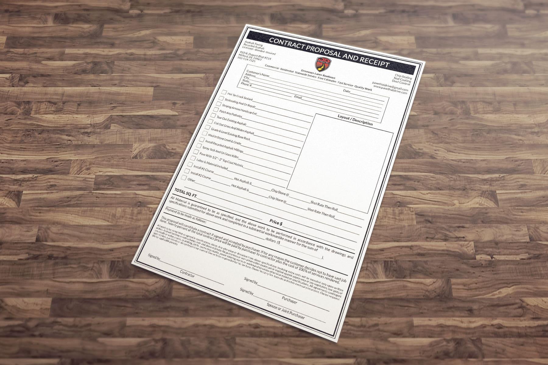 design a stylish PDF document