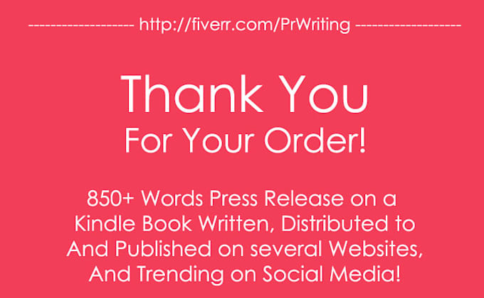 Write Book Launch Press Release For Promotion Marketing Publicity By Prwriting
