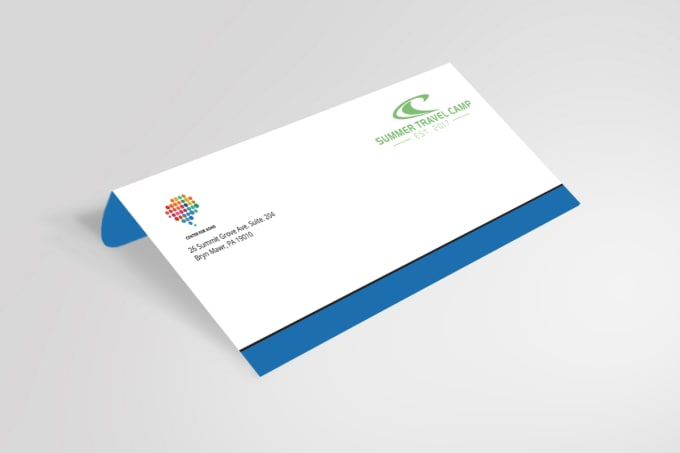 Create business card letterhead stationery within 24 hours by ananda93 reheart Images