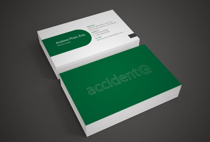 I will design professional business card fiverr reheart Image collections