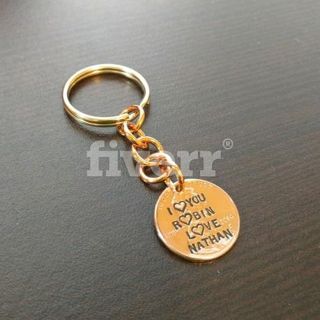 how to make a photo keychain