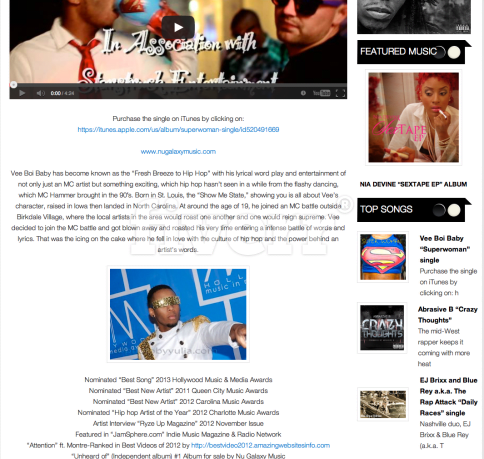 promote your song in north california on our hip hop website
