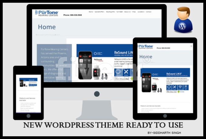 Convert html into responsive wordpress theme or site by Siddharthsingh9