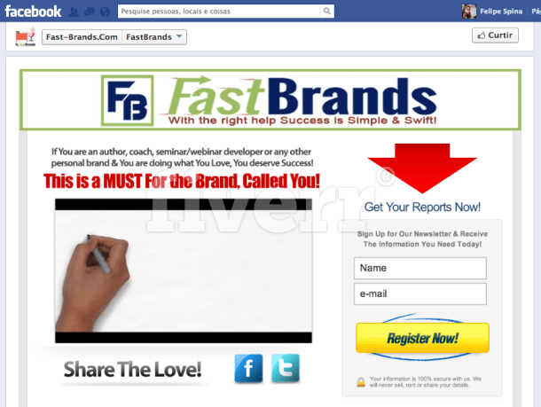 how to add website to facebook page