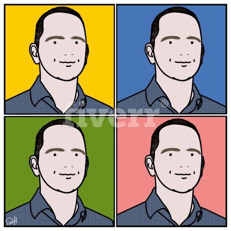 how to turn a photo into a cartoon image