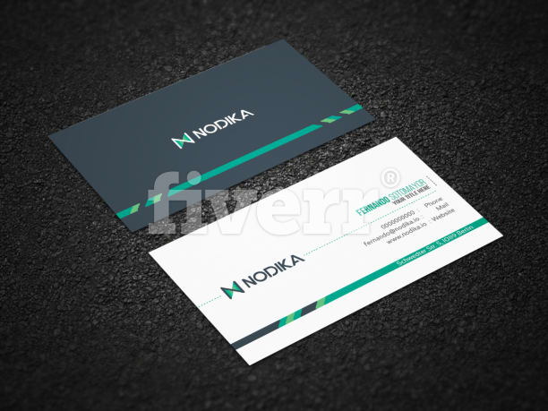 Design professional stylish business card by shaonkhan reheart Choice Image
