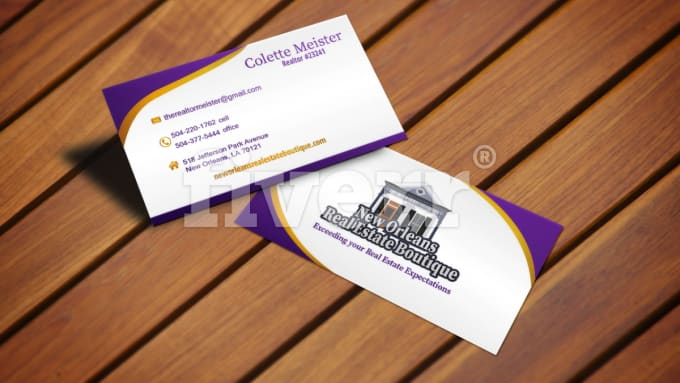 Do modern business card for you by ulmdesigner reheart Gallery
