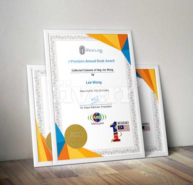 Design Creative Certificate Template By Arafatalam7