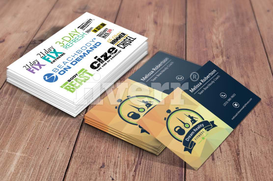 Design 2 Business Card With Free Psd And With Multiple Revision By