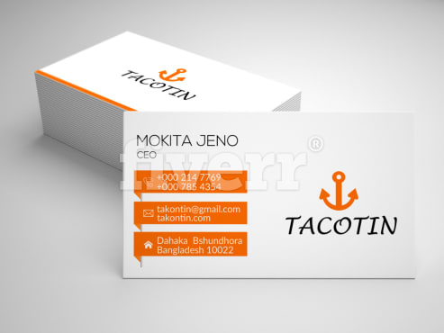 Do 3 different business cards within 12 hours by taposhi96 activesmm reheart Choice Image