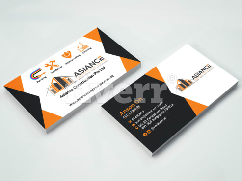 Do 4 different high end business card within 3hrs by mkrhaman85 ansonoh reheart Images