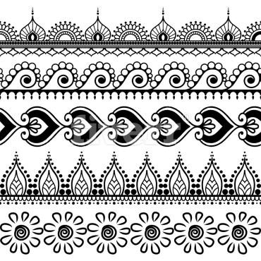 Create Awesome Custom Henna Pattern Design By Samsitara