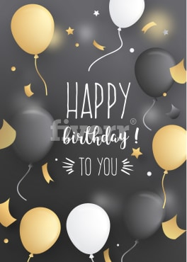 Create A Custom Designed Birthday Card By Aviyansah