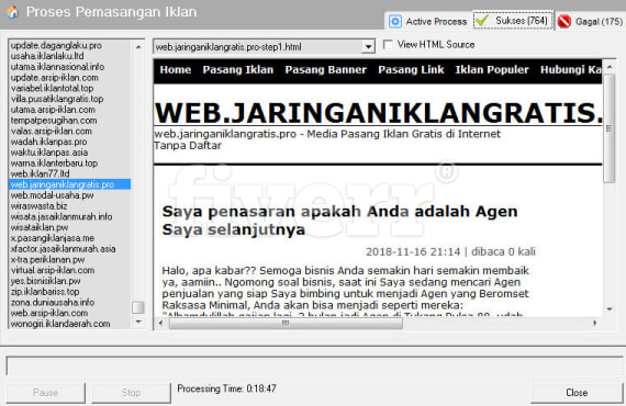 indonesian classified sites