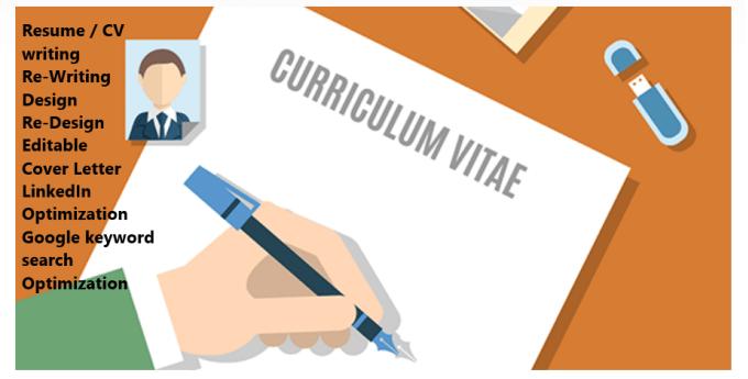 Write resume cover letter linkedin profile optimization by Sajj4u