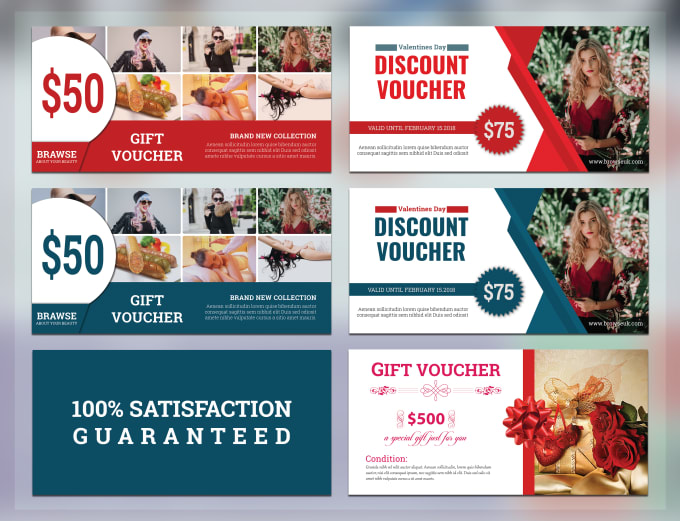 Design Coupon By In Voucher Gift 24 Or Amazing Hrs Designerhossain