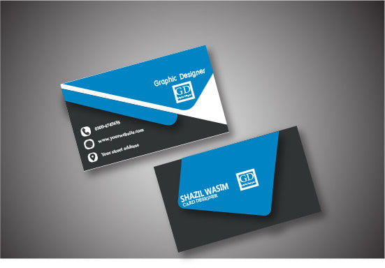 Design a professional double sided business card by Shazilwasim143