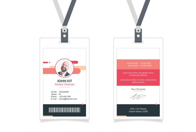 Student Identity Do Card design And By Employee Membership Yeey Card