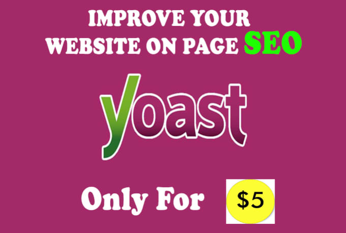 do wordpress yoast SEO on page optimizationmorshad05 : I will do wordpress yoast SEO on page optimization for $5 on www.fiverr.com - 웹
