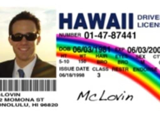Superbad A From Irvinecb By You Make Card Mclovin Novelty The Movie
