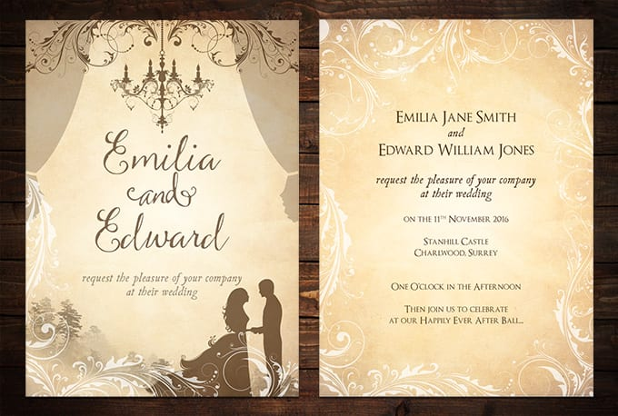 Create custom invitations for your special event by Vikncharlie