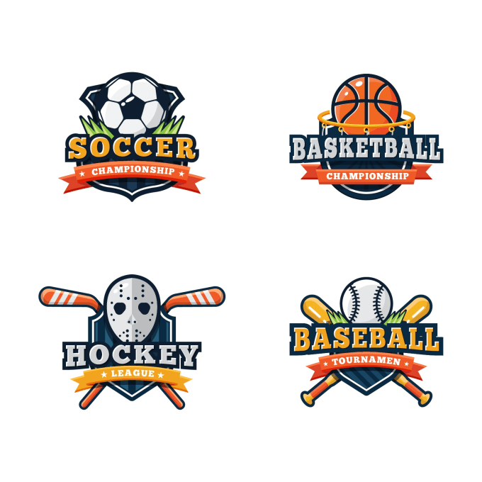 Create unique sports logo by Babar34471966