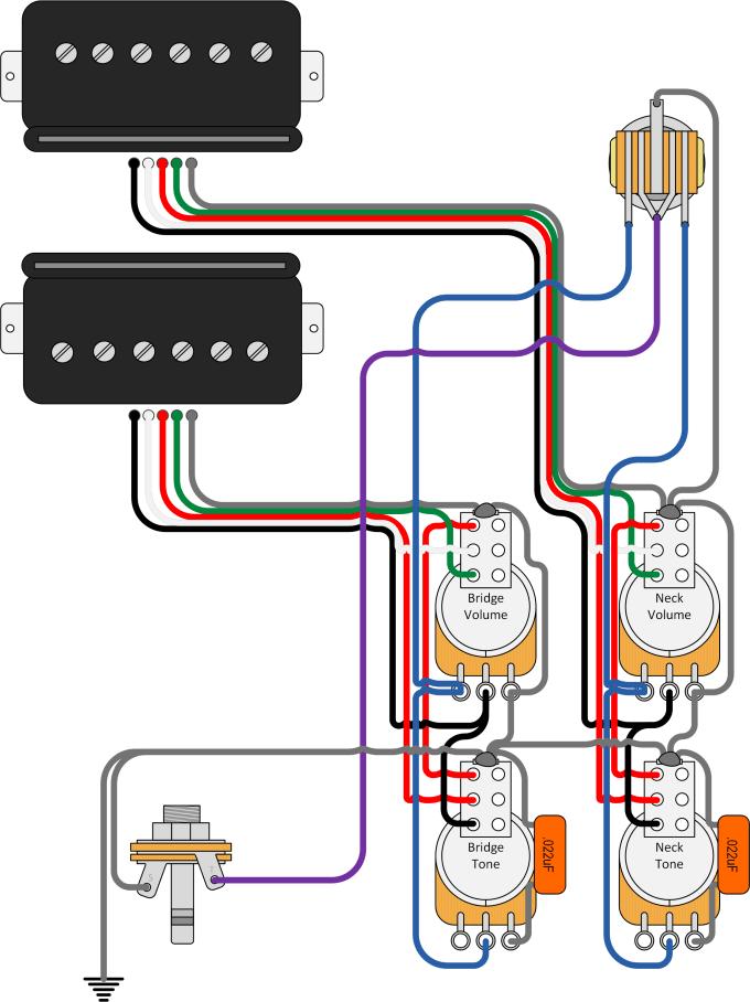 Design custom guitar wiring diagram by Paulo2534 | Fiverr | Guitar Wiring Diagram Editor |  | Fiverr