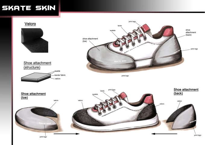 Create Shoe Design And Technical