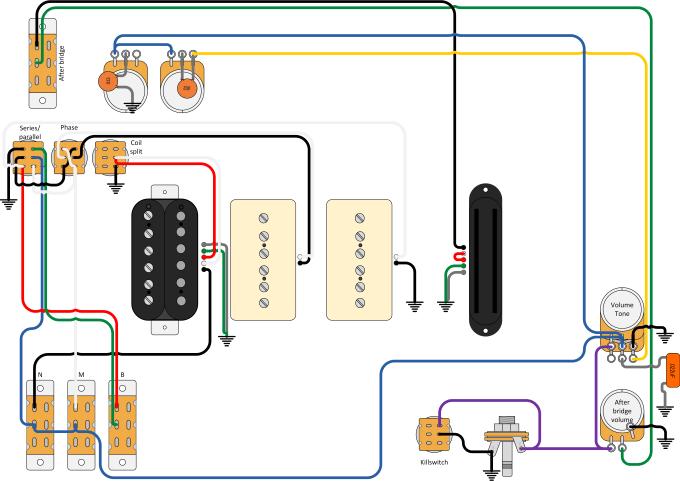 design custom guitar wiring diagram