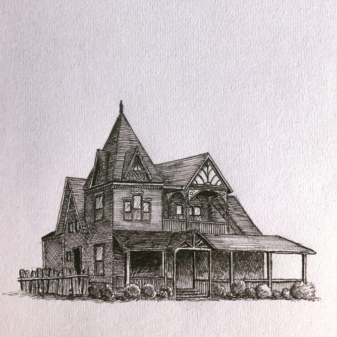 Sketch Any House Or Building From A Photo By Archisketch