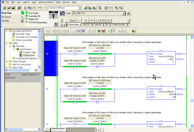 Do your plc programming or project with studio 5000