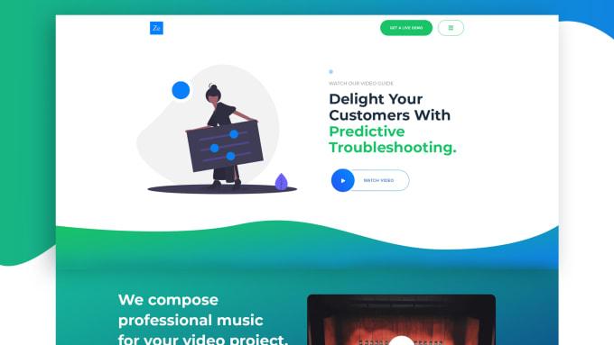 Design Creative Website Mockup Professionally By Abuzaransariweb
